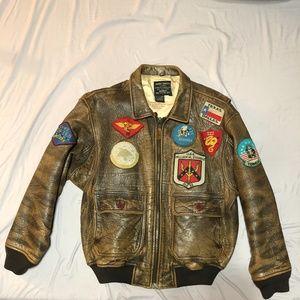 Vintage Avirex Leather Flight Jacket